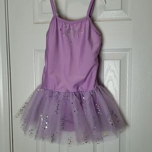 Revolution Dancewear Purple Leotard Tutu